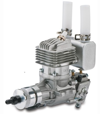 DLE20RA Two Stroke Petrol Engine Rear Exhaust