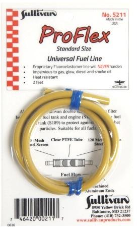 1m x DuBro 1//8 Tygon Petrol Fuel Tubing DB506