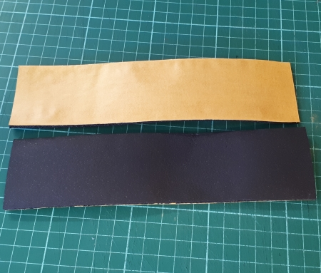 Self Adhesive Foam Strip 2x 200mm x 50mm x 3mm