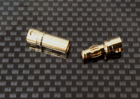 3.5mm Gold Connector 1 Pair
